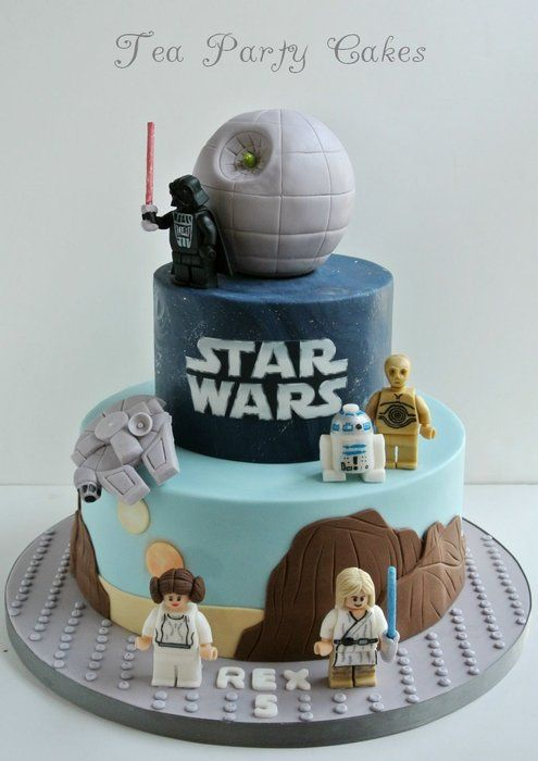 Lego-birthday-cakes-star-wars