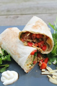Avocado Sandwich Wrap recipe
