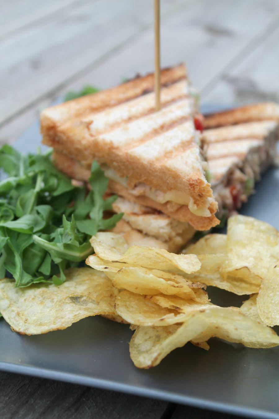 Cheesy Tuna Melt Sandwich