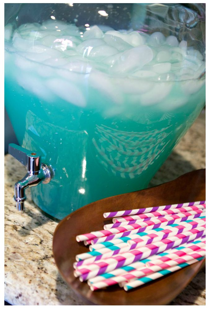 Frozen Birthday Party Ideas DIY Frozen Punch Drink