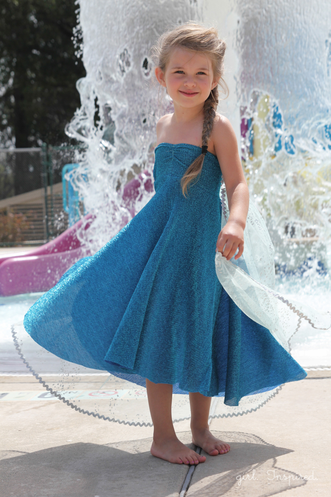 Frozen Birthday Party Ideas Elsa Party Dress Tutorial