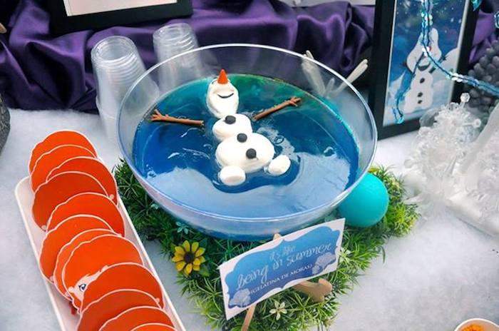 Frozen Party Ideas Olaf Jelly