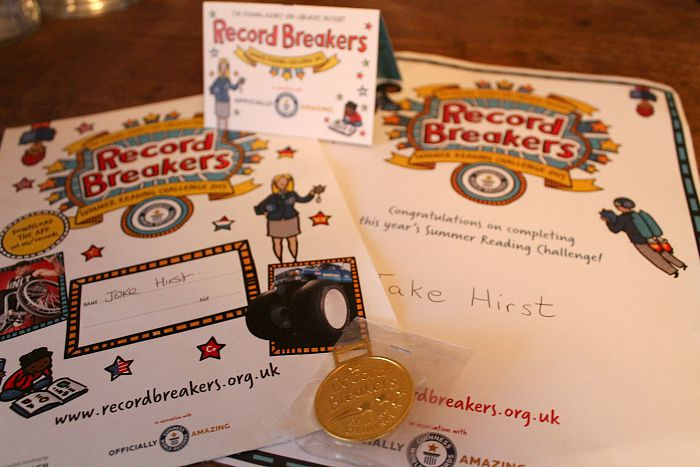 Library Reading Challenge - Record Breakers