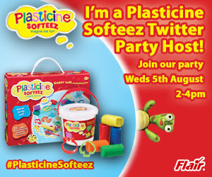 Plasticine Softeez Twitter Party Wed 5th August 2pm- 4pm