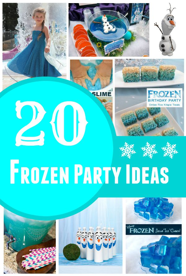 frozen-party-ideas