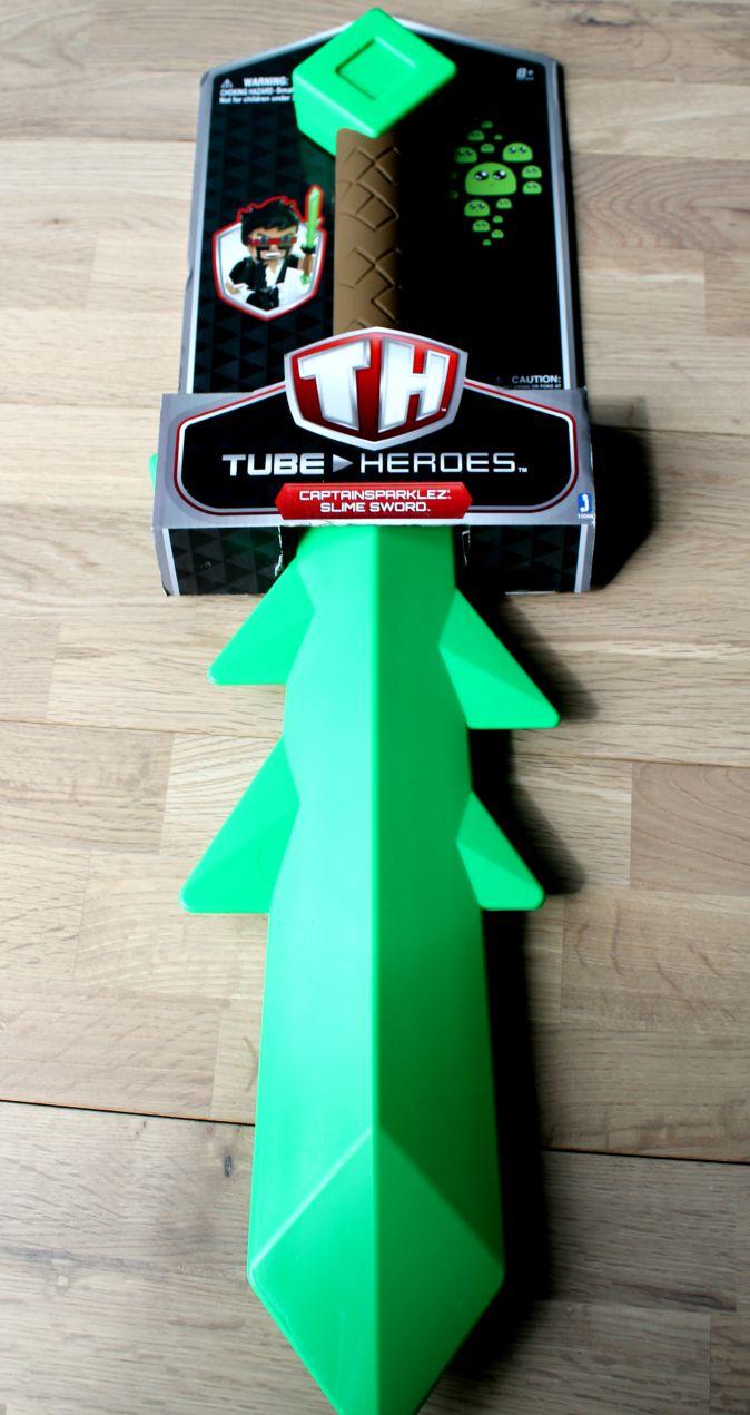 tube heroes slime sword in packaging