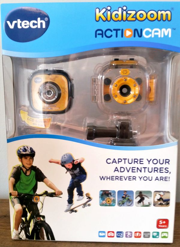 vtech kidizoom action cam box