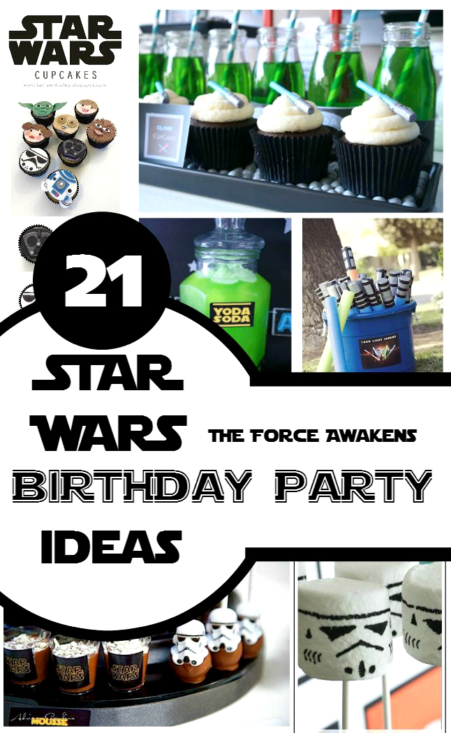 21 Star Wars Birthday Party Ideas