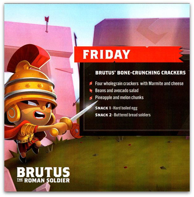 Brutus' Bone-Crunching Crackers recipe instructions