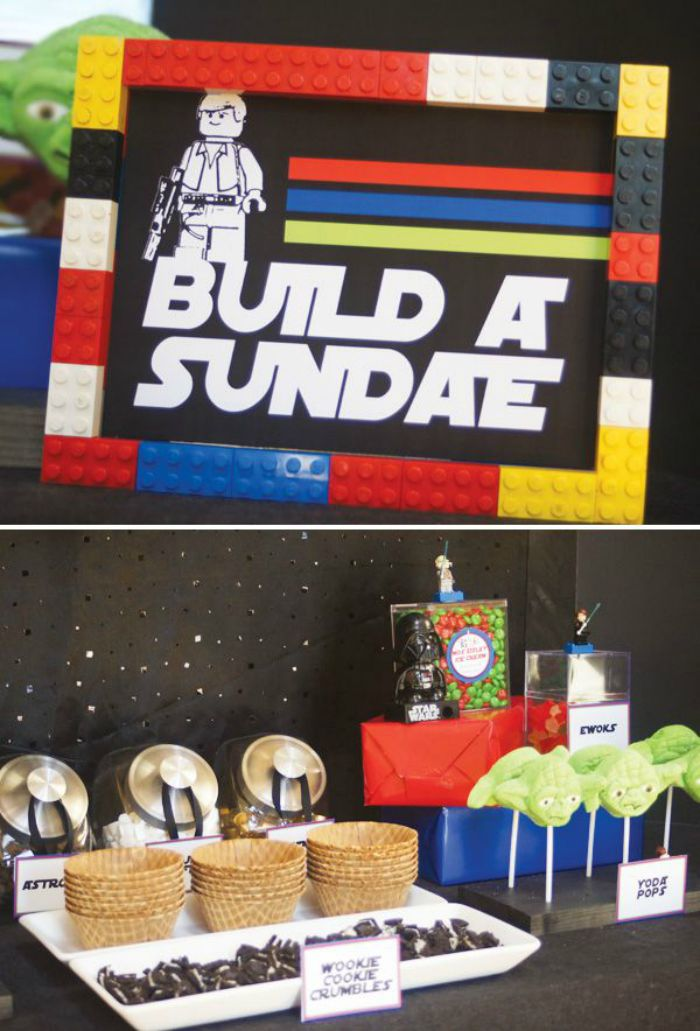 Build a Sundae Star Wars Station