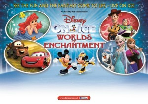 Disney On Ice presents Worlds of Enchantment 2015