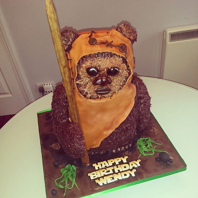 Ewok Star Wars Cake