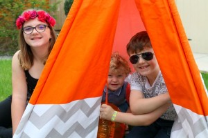 How to hold a Mini Festival for kids in your Garden