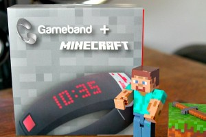 Our thoughts on the wearable Gameband + Minecraft