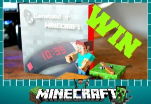 Win a Gameband + Minecraft