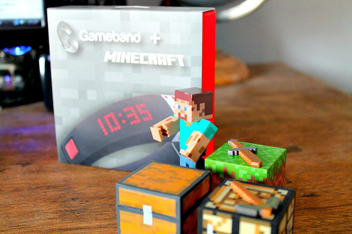 Gameband + minecraft with toy