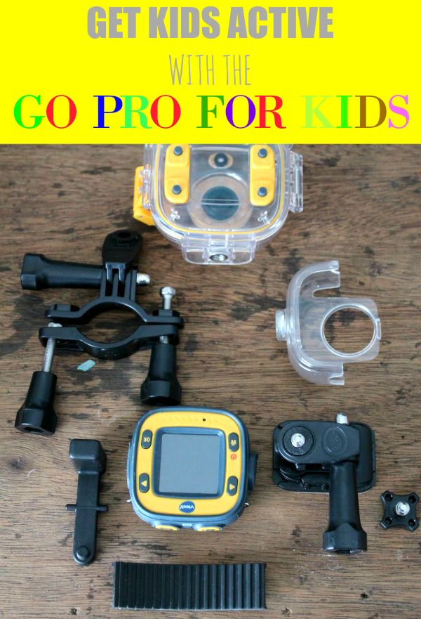 Get Kids Active with the Go Pro for kids