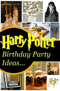 Inpsirational Harry Potter Birthday Party Ideas