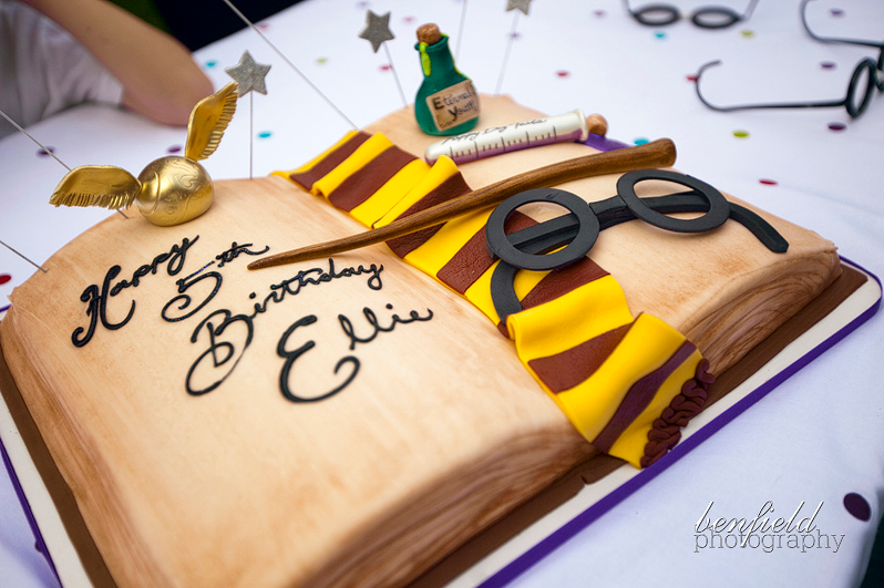 Harry Potter Book Cake Ideas and Designs