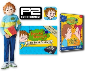 Win a Horrid Henry prize bundle