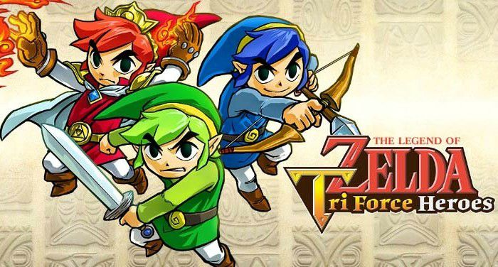 Legend of Zelda Triforce Heroes video game