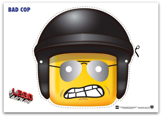 9 Free Lego Movie Printable Masks