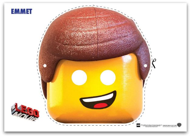 9 Free Lego Movie Printable Masks