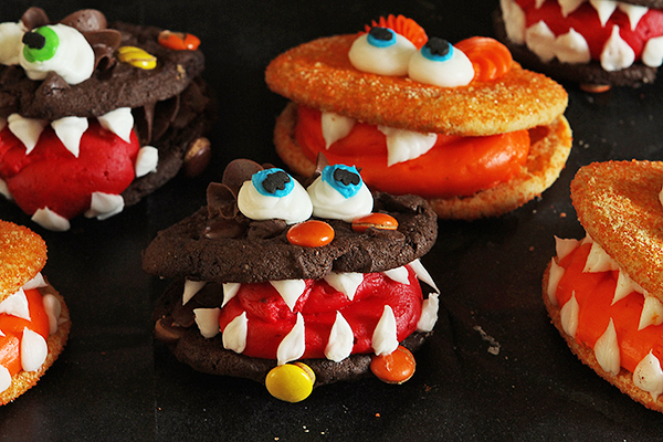 Easy Halloween Recipes Monster Cookies Recipe