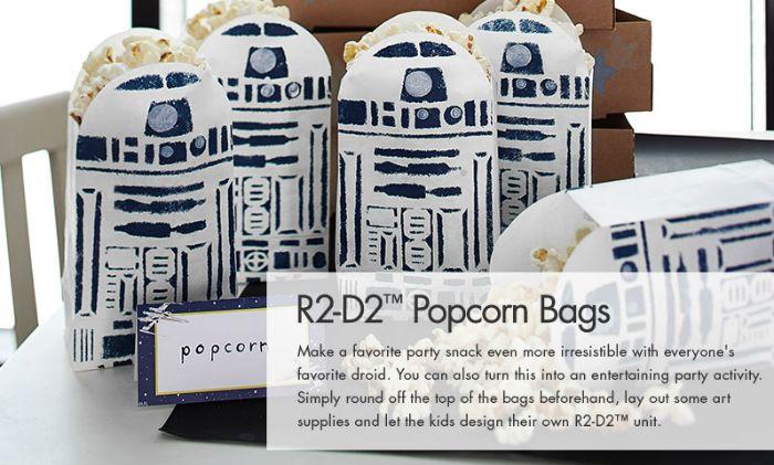 R2-D2 Popcorn Bags