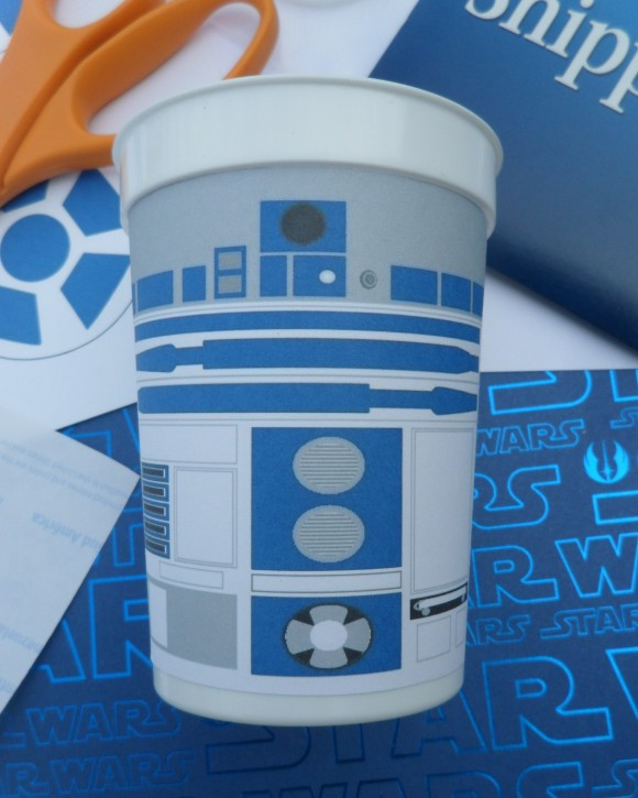 R2D2 free cup printable Labels