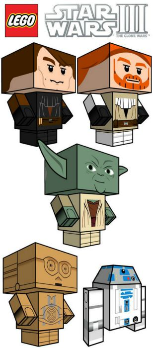 Star Wars Paper craft