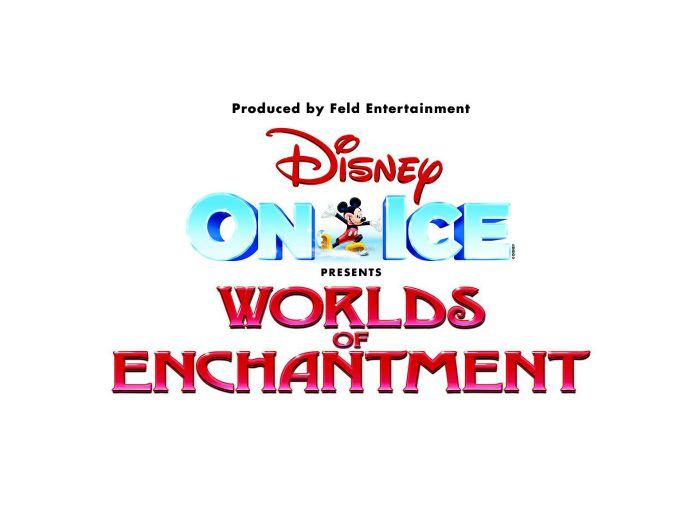 Disney On Ice presents Worlds of Enchantment.