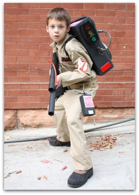 diy halloween costumes for kids ghostbusters tutorial