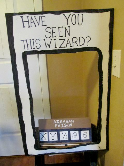 harry potter have you seen this wizard sign
