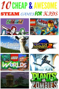 10 timeless Cheap Steam Games for Kids