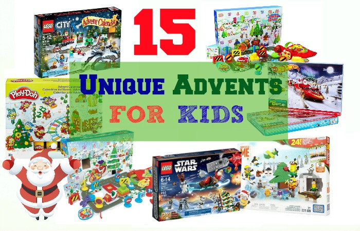 15 Unique advent calendars for kids 2015