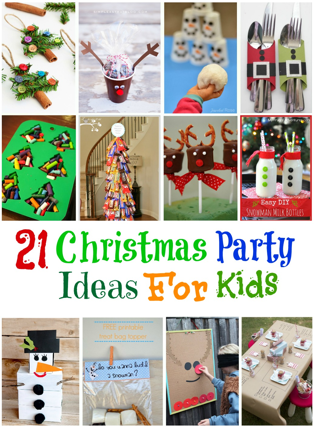 ideas for kids christmas party