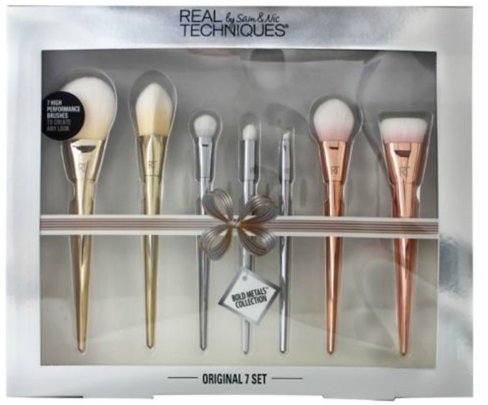 Boots Star Gift Deals Beauty Gifts for Xmas 2016 (Updated) - Real Techniques Brushes