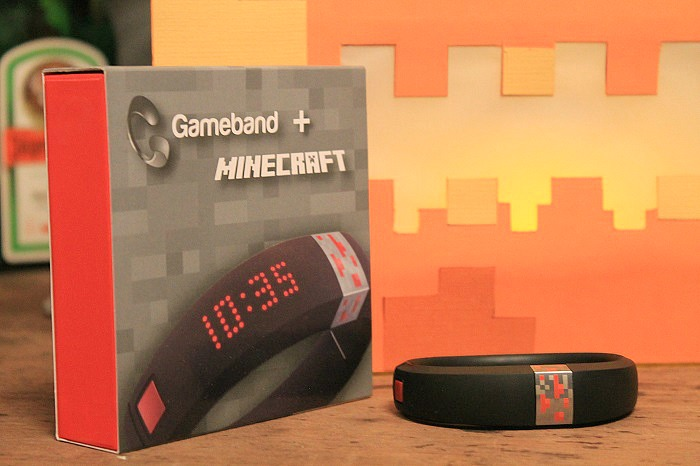 Gameband+ Minecraft with Pumpkin