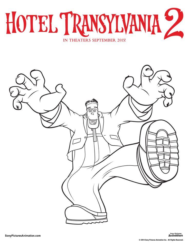 Hotel Transylvania 2 printables Frankenstein