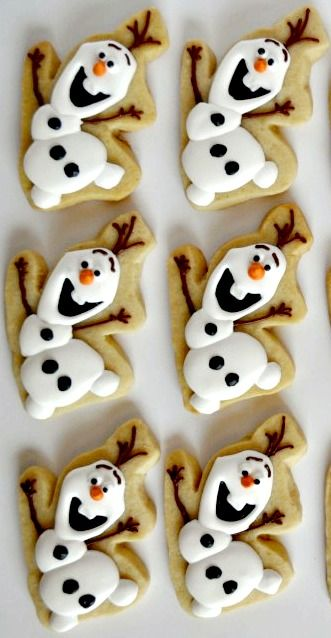 How to Make Olaf Cookies