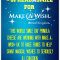 Make A Wish UK #Spreadasmile
