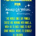 Make A Wish UK #Spreadasmile