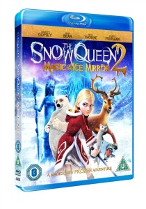 WIN THE SNOW QUEEN: MAGIC OF THE ICE MIRROR ON BLU-RAY