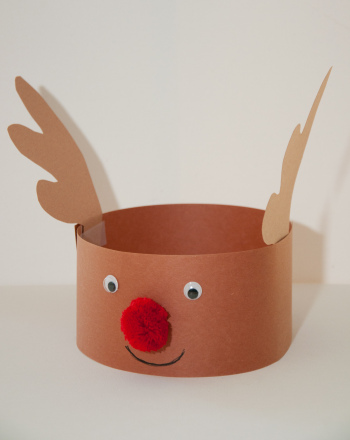 home made reindeer hats