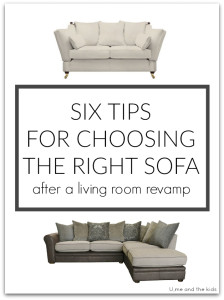 6 Tips for Choosing the right Sofa after a living room revamp