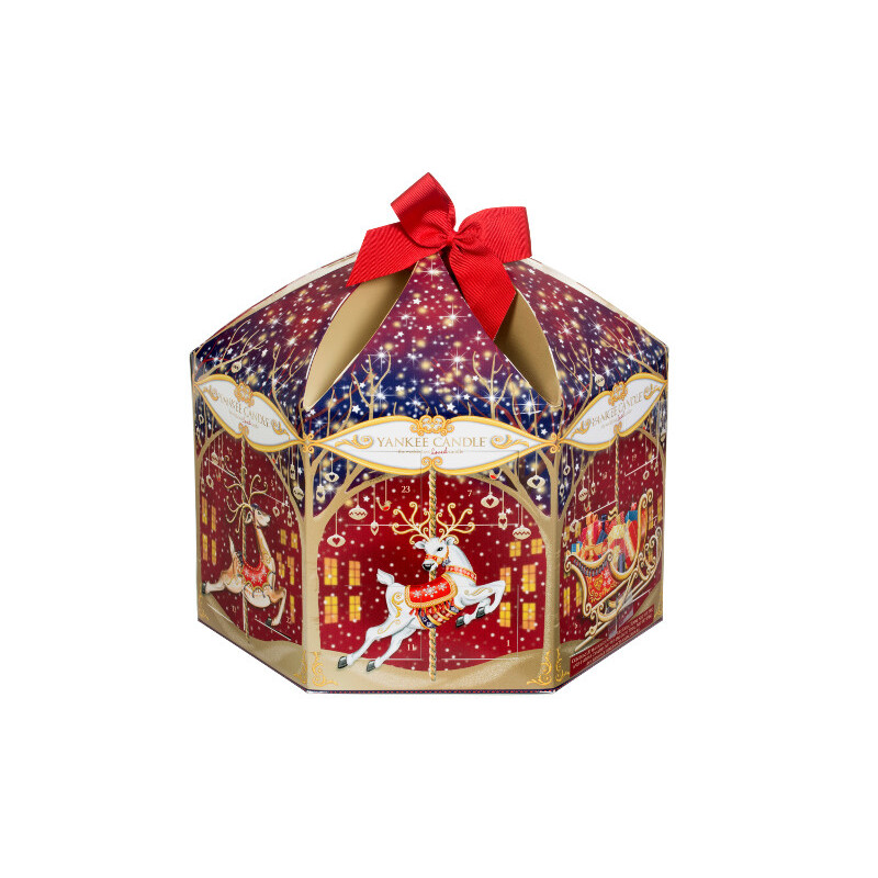 Unique Advent Calendars 2015 | yankee candle reindeer carousel