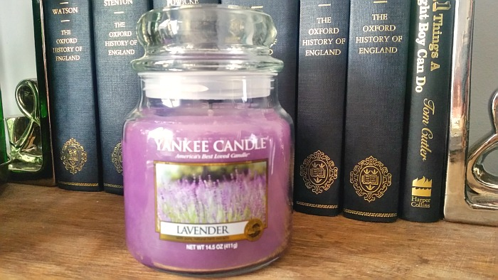 yankee candle Lavender