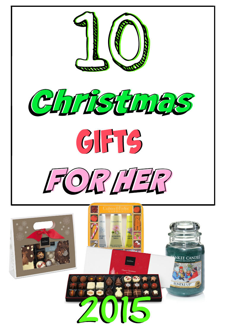 10 Amazing Christmas Gifts for her 2015