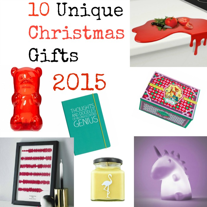 10 Unique Christmas Gifts 2015 - featured image